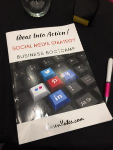 Karen Yates Social Media Strategy Bootcamp workbook Toks Adebanjo Virtual Assistant Services review blog