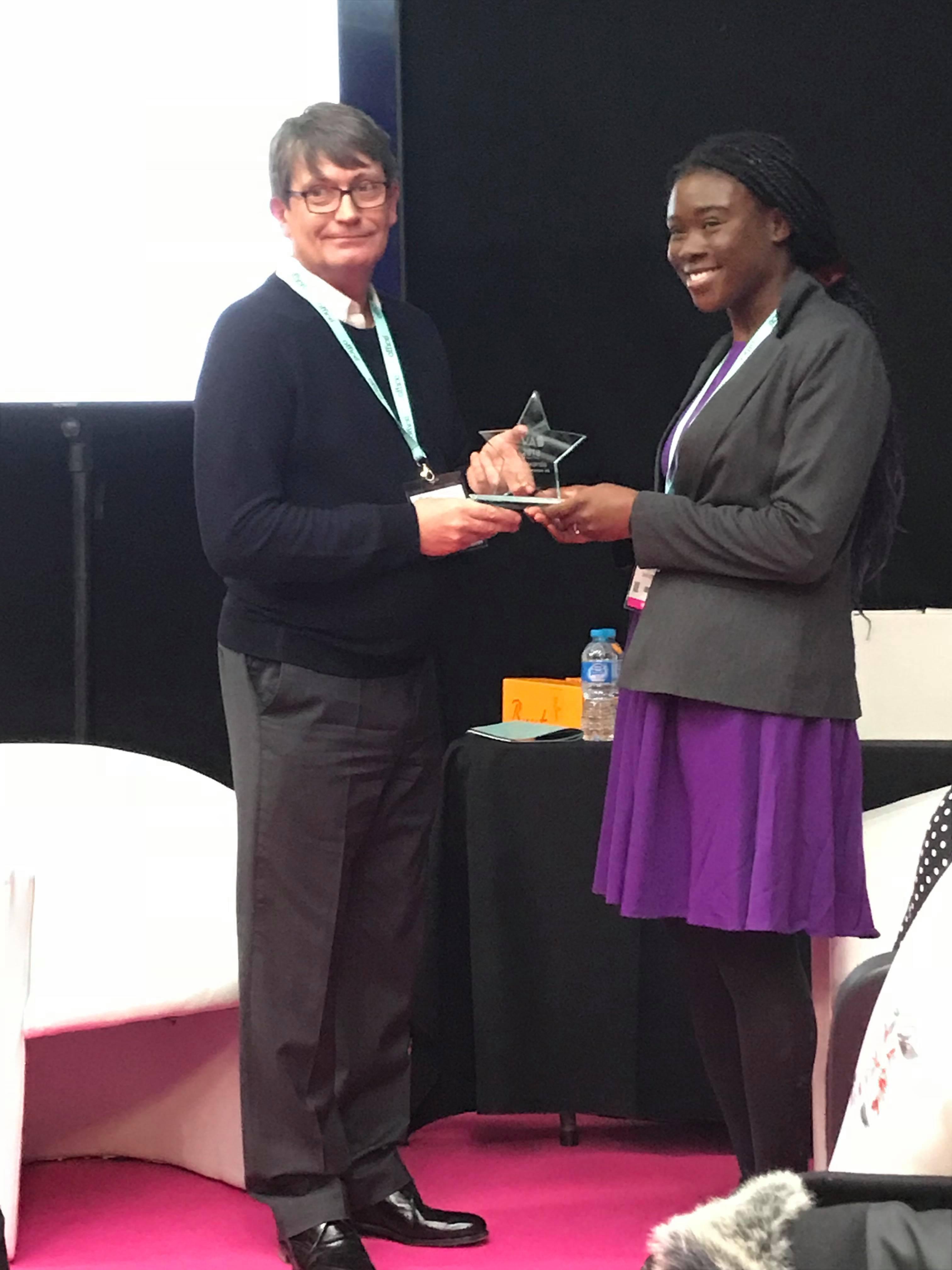 Toks Adebanjo Virtual Assistant UK Best Newcomer VA Award Winner 2018